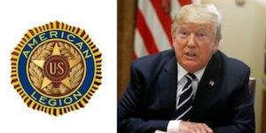 American Legion and Trump